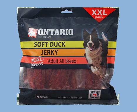 Ontario Snack Soft Duck Jerky 500 g