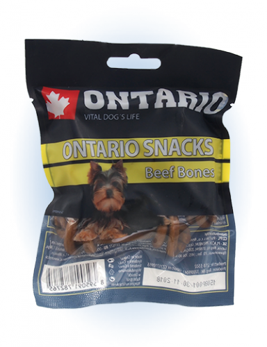 Ontario Rawhide Snack Bone 7,5 cm 5 ks