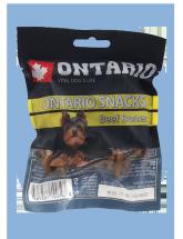 Ontario Rawhide Snack Bone 7,5cm 5 ks