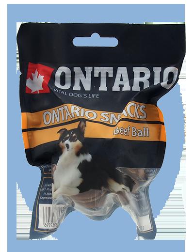 Ontario Rawhide Snack Ball 7,5 cm 1 ks