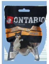 Ontario Rawhide Snack Ball 7,5cm 1 ks