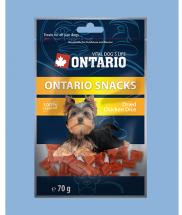 Ontario Snack Chicken Dice Small dog 70 g