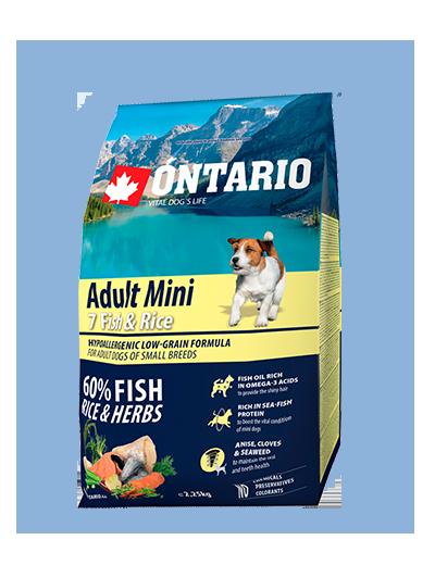 Ontario Adult Mini Fish & Rice 2.25kg