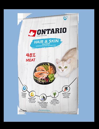 Ontario Cat Hair & Skin 2 kg