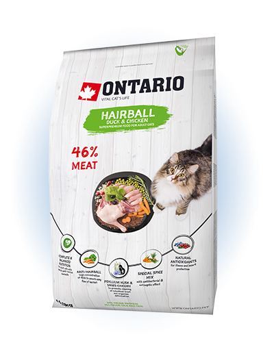 Ontario Cat Hairball 0,4 kg