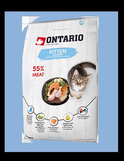Ontario Kitten Salmon 0,4kg