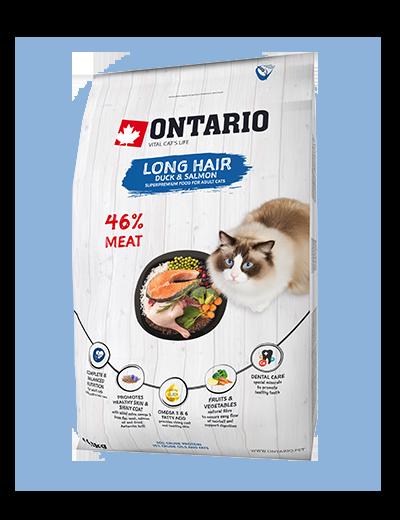 Ontario Cat Longhair 2 kg