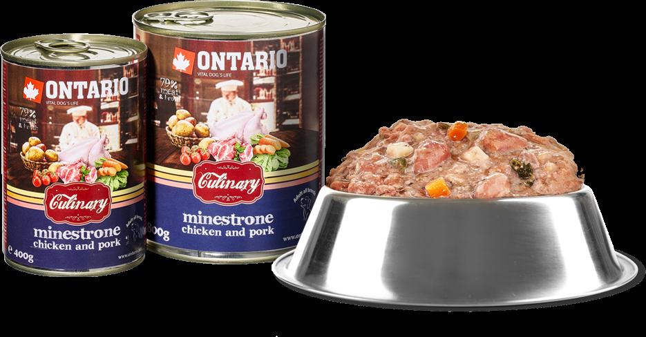 Konzerva Ontario Culinary Minestrone Chicken and Pork 800 g