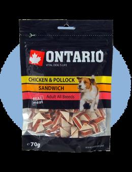 Ontario Snack Chicken Jerky Sandwich 70 g