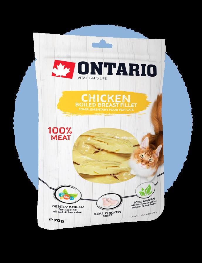 Ontario Boiled Chicken Breast Fillet 70 g