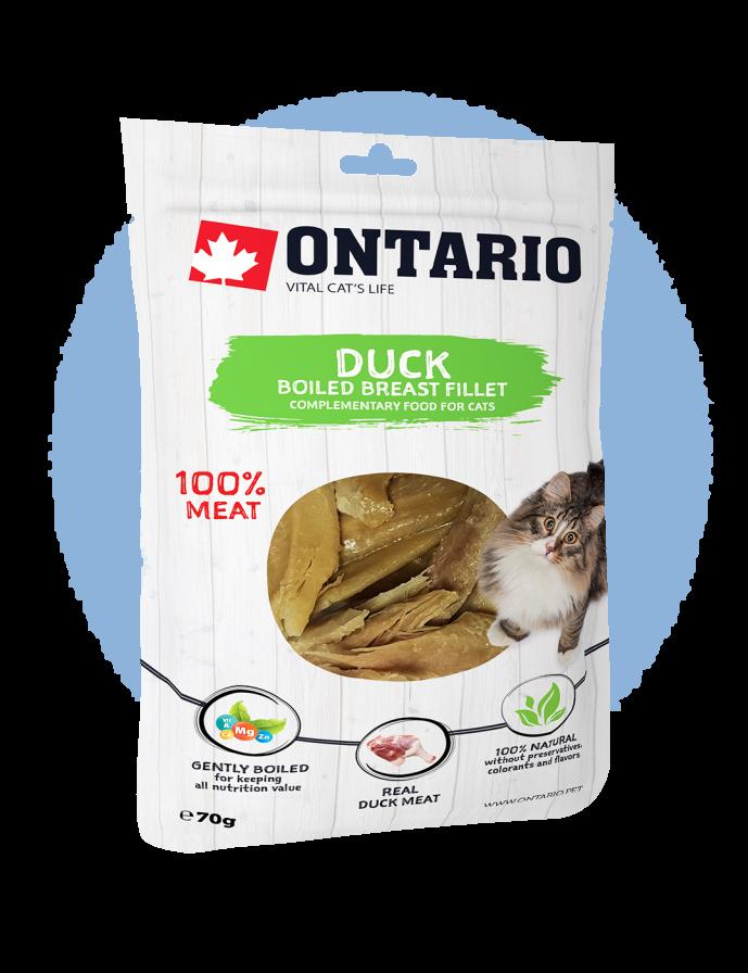 Ontario Boiled Duck Breast Fillet 70 g