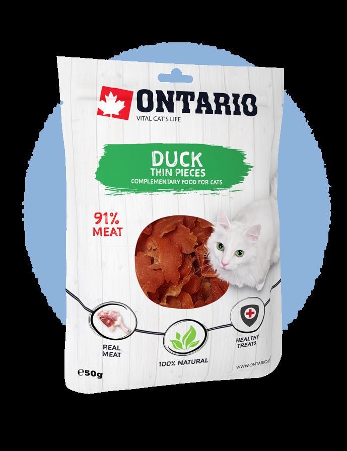 Ontario Duck Thin Pieces 50 g