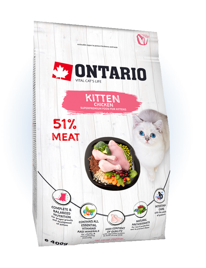 Ontario Kitten Chicken 0,4 kg
