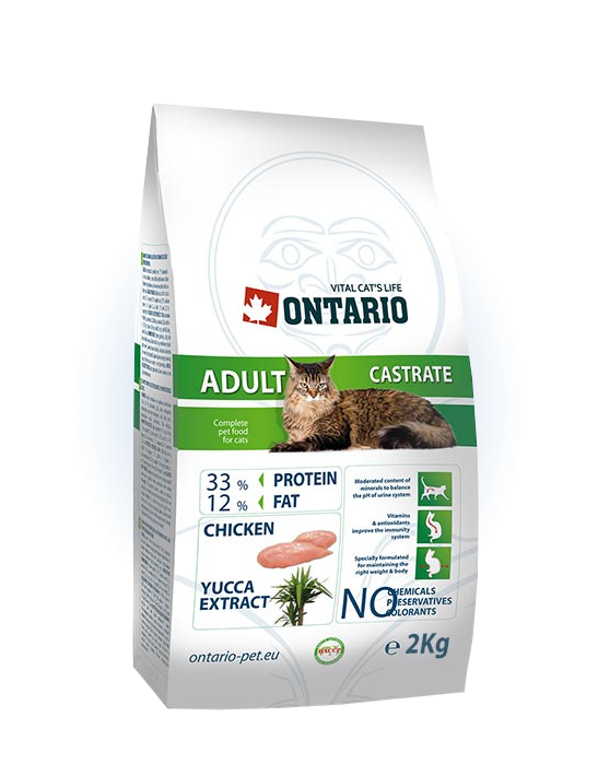 Ontario Adult Castrate 2 kg