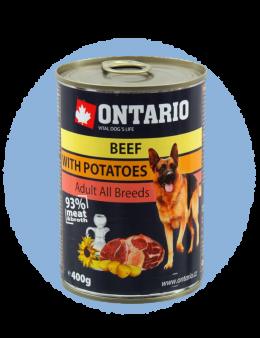 Konzerva Ontario Beef, Potatoes, Sunflower Oil