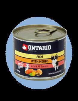 Konzerva Ontario Mini MULTI FISH and Salmon Oil
