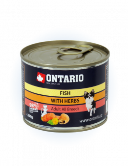 Konzerva Ontario Mini MULTI FISH and Salmon Oil