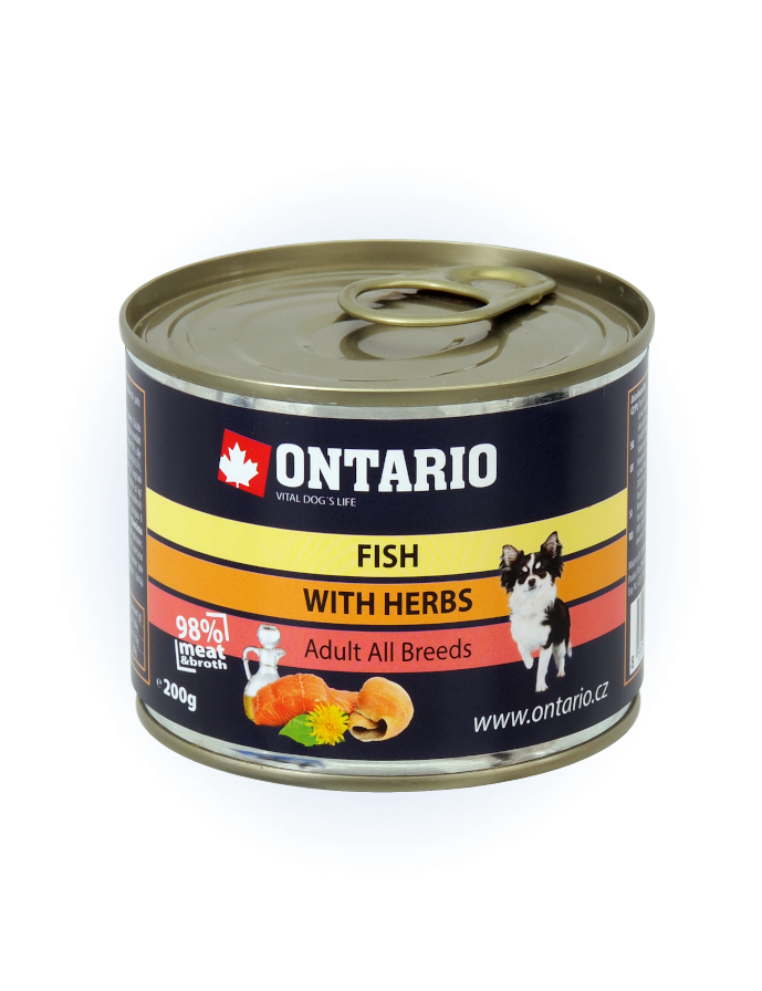Konzerva Ontario Multi Fish and Salmon Oil 200g