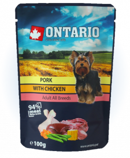 Kapsička Ontario Pork with Chicken in Broth 100 g