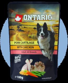 Kapsička Ontario Pork Cartilage with Chicken in Broth 100 g
