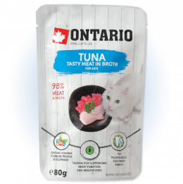 Kapsička Ontario Tuna in Broth 80g