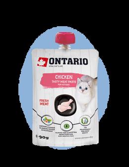 Pasta Ontario Kitten Chicken Fresh Meat Paste 90g