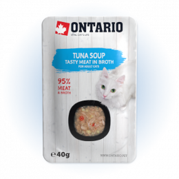 Polévka Ontario Cat Soup Tuna with vegetables 40g