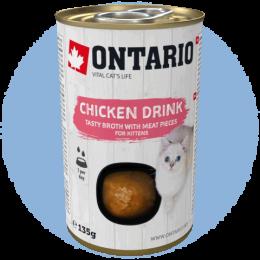 Nápoj Ontario Kitten Drink Chicken 135g
