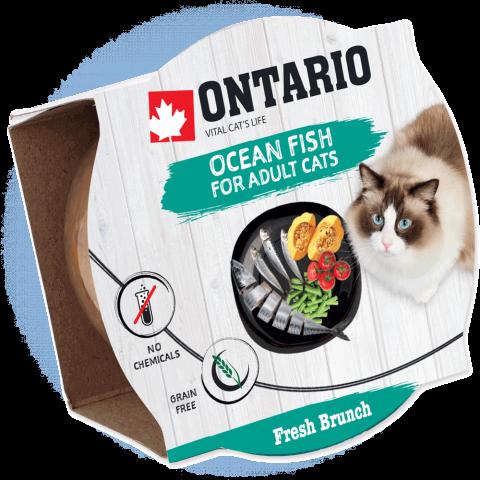 Ontario Fresh Brunch Ocean Fish 80g
