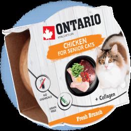 Ontario Fresh Brunch Senior Chicken 80g