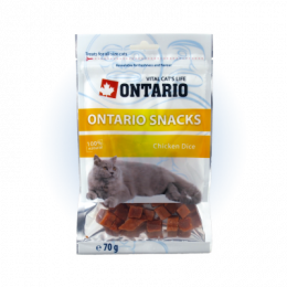 Ontario Snack Chicken Dice 70 g