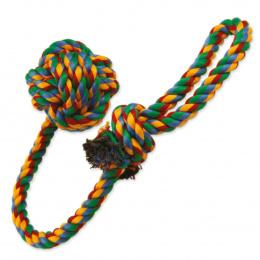 Rotaļlieta suņiem -  DogFantasy Good's Kokvilnas bumba mešanai, 55cm