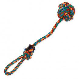 Игрушка для собак – DogFantasy Good's Cotton Throwing Ball, colored, 35 см