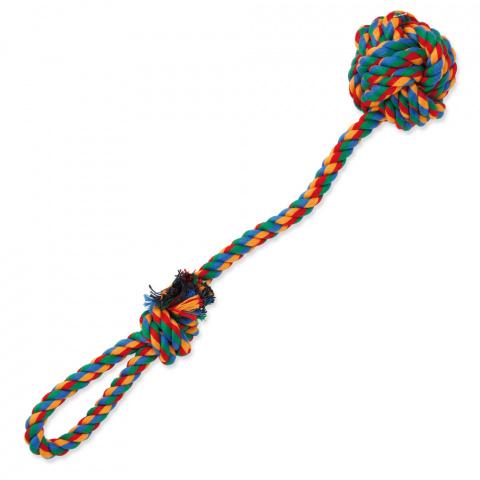 Игрушка для собак - DogFantasy Good's, игрушка из ткани, цветная игрушка для бросания, 35cm title=