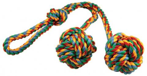 Rotaļlieta suņiem -  DogFantasy Good's Kokvilnas mantiņa click clack, 50cm