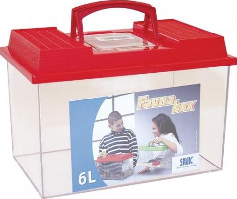 Terārijs - SAVIC Fauna Box, 6l, 27*17*18 cm title=