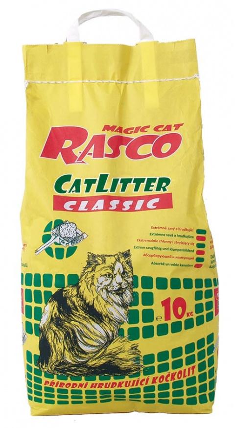 Smiltis kaķu tualetei - Rasco Litter Classic, 10 kg title=