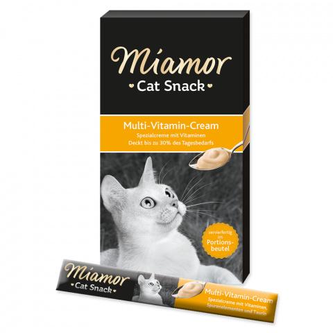 Gardums kaķiem - Miamor Multivitamīnu krēms, 6*15 g