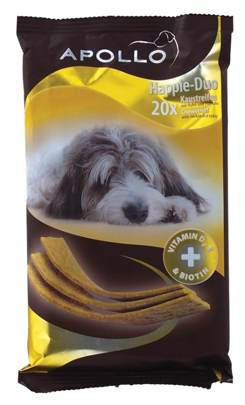 Gardums suņiem - Apollo Happie-Duo Chicken&Turkey 200g