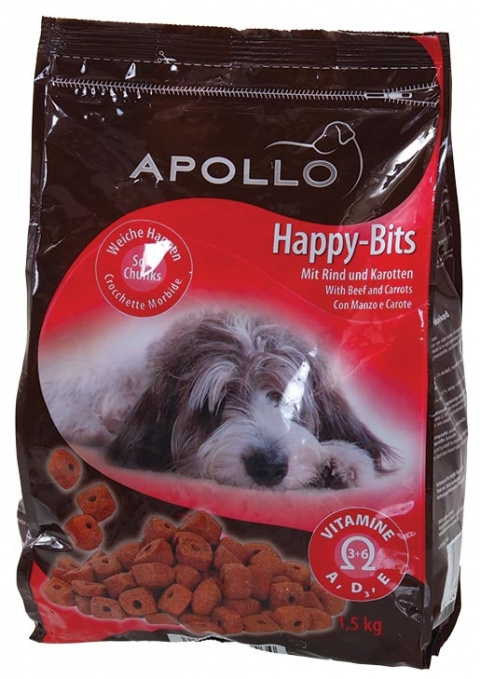 Лакомство для собак - Apollo Happy Bits, 1.5kg