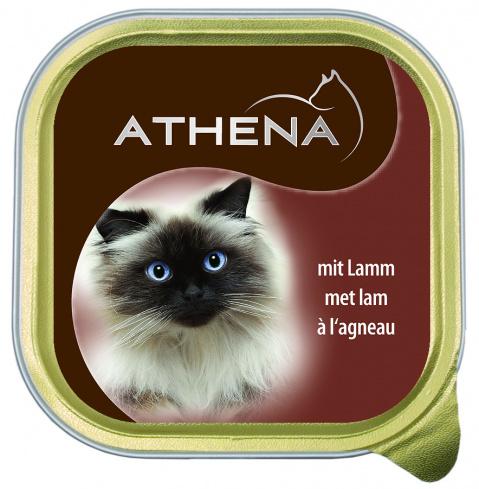 Консервы для кошек - Athena 100г, (баранина)