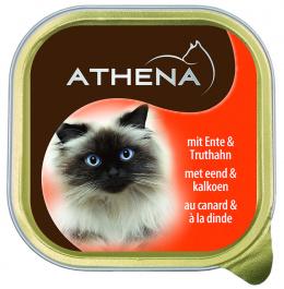 Консервы для кошек - Athena, 100г (утка и инднйка)