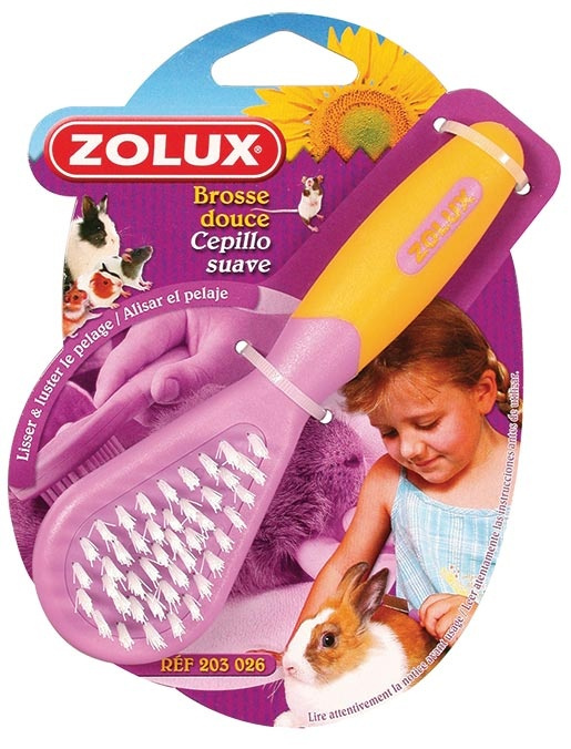 Расческа для грызунов - Zolux Soft Brush