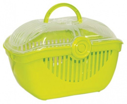 Транспортировочный контейнер для животных Small Animal Jewel Carrier зеленый