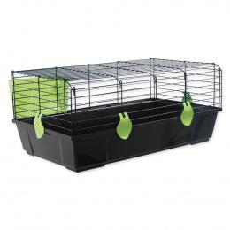 Būris trušiem - Small Animal Michal, 100*55*39 cm, krāsa - melna/zaļa