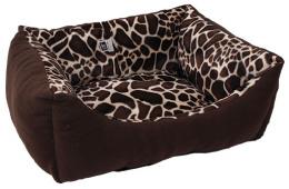 Лежанка для собак - Dog Fantasy Sofa Giraffe, 70*60 cm
