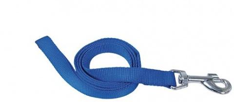 Поводок - DogFantasy нейлон, 25 мм, 120 см, синий title=