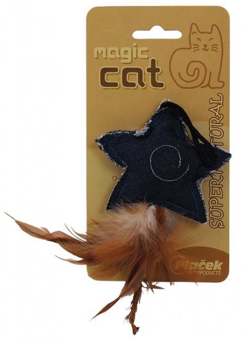 Игрушка для кошек Натуральная кошачья мята, звезда 8.5cm