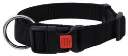 Ошейник - DogFantasy нейлон, 25mm, 45-65cm, черный