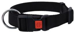 Ошейник - DogFantasy нейлон, 15mm, 30-45cm, черный
